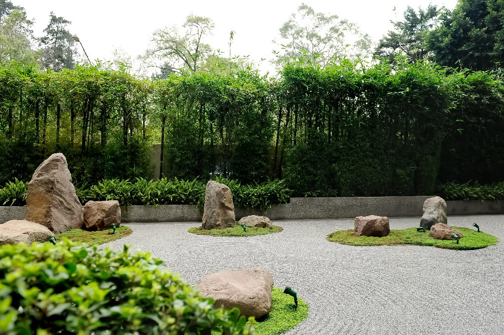 Jardines zen en terrazas perfect diseo de jardn zen with - Jardines zen exteriores ...