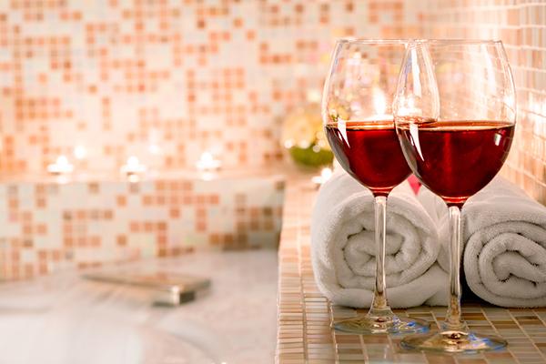Spa y vino