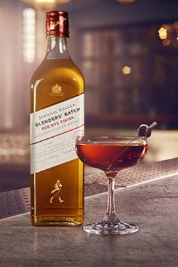 Coctel Manhattan Johnnie Walker