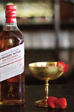 Red Rye Violet Johnnie Walker