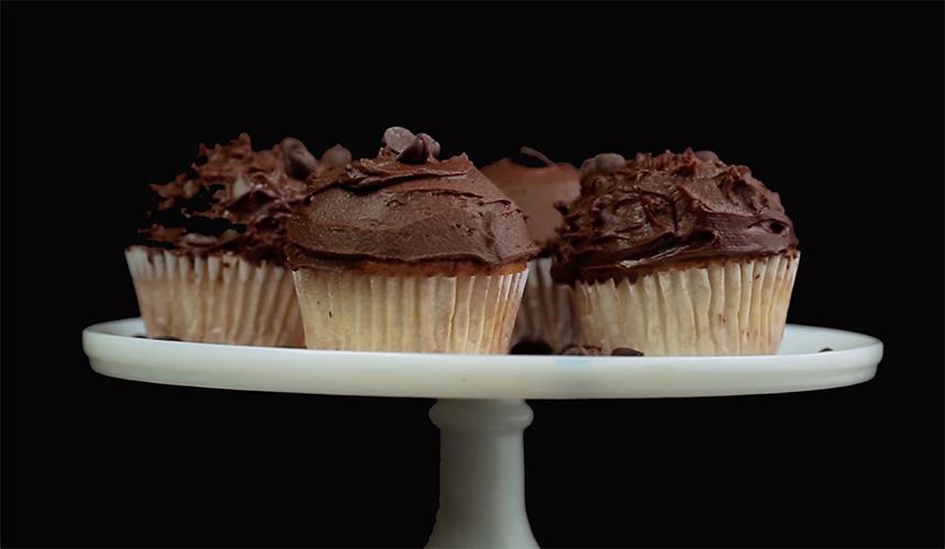 Baileys choco-cupcakes