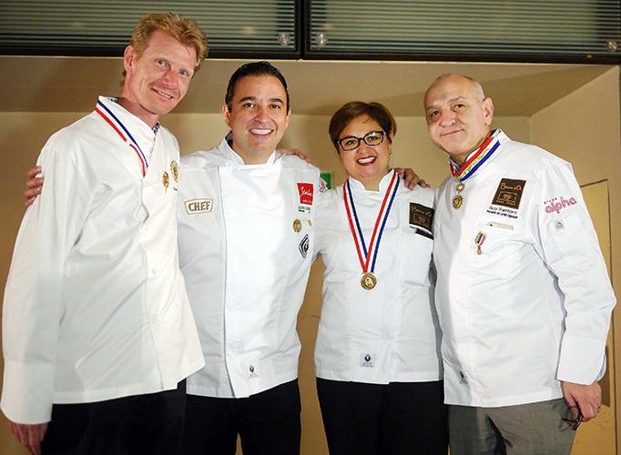 Frederic Lejeune, Azari Cuenca, Isabella Dorantes y Guy Santoro