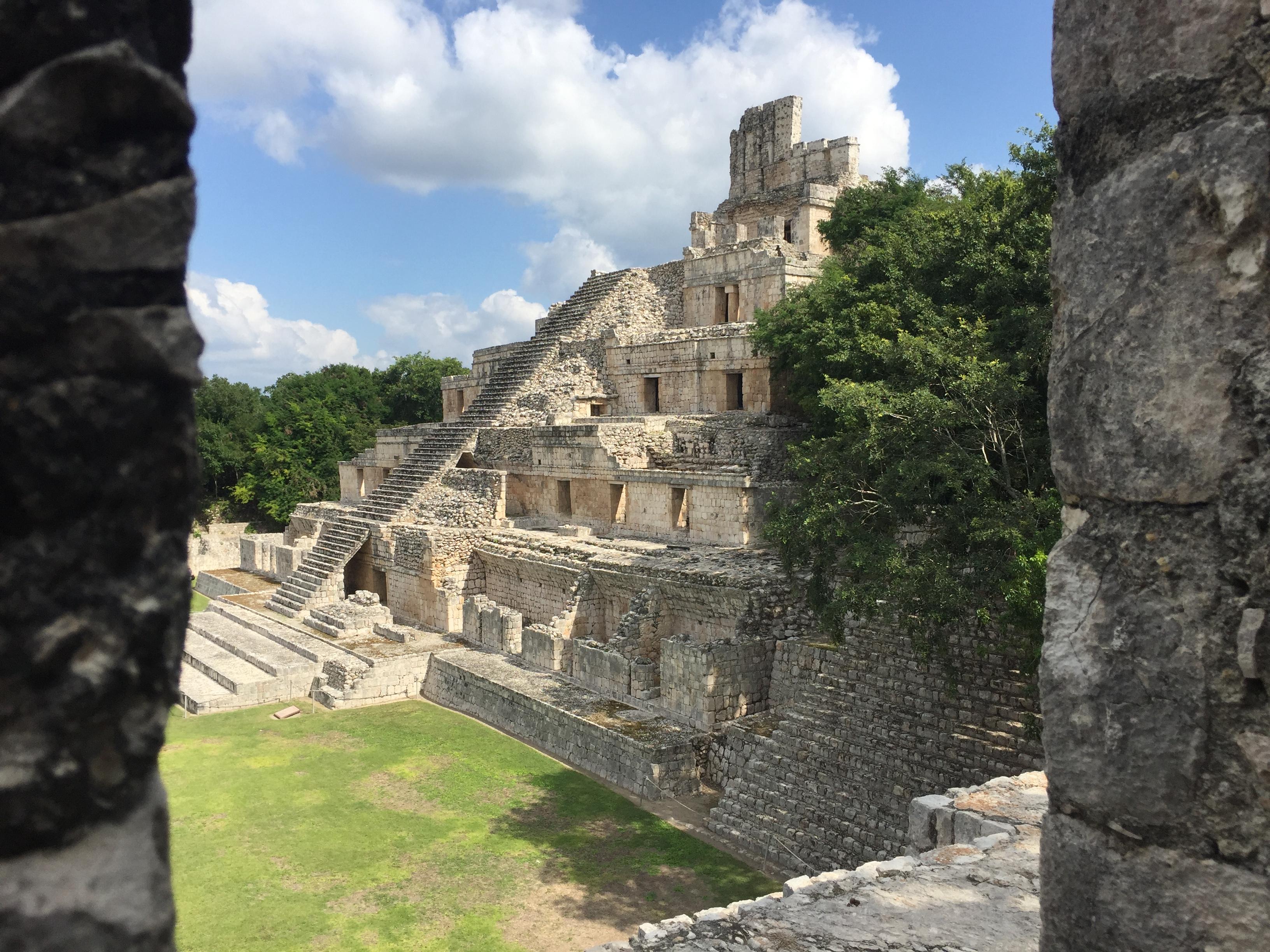 Zona Arqueológica Edzná Campeche