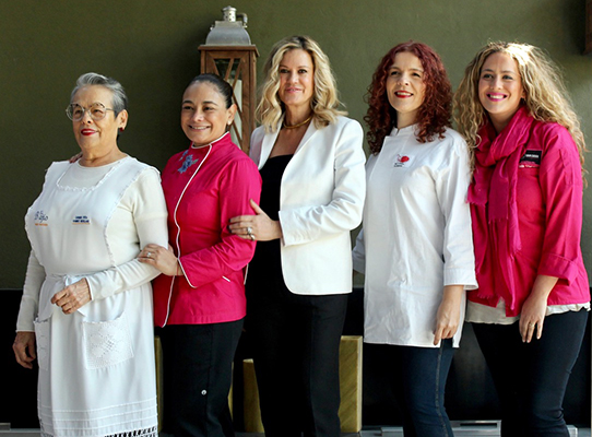 Mujeres chefs
