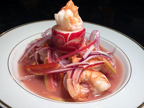 Ceviche Rosa