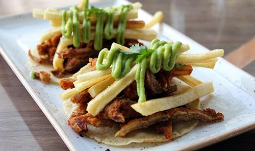 Tacos de milanesa