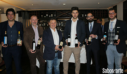 Representantes de vino italiano
