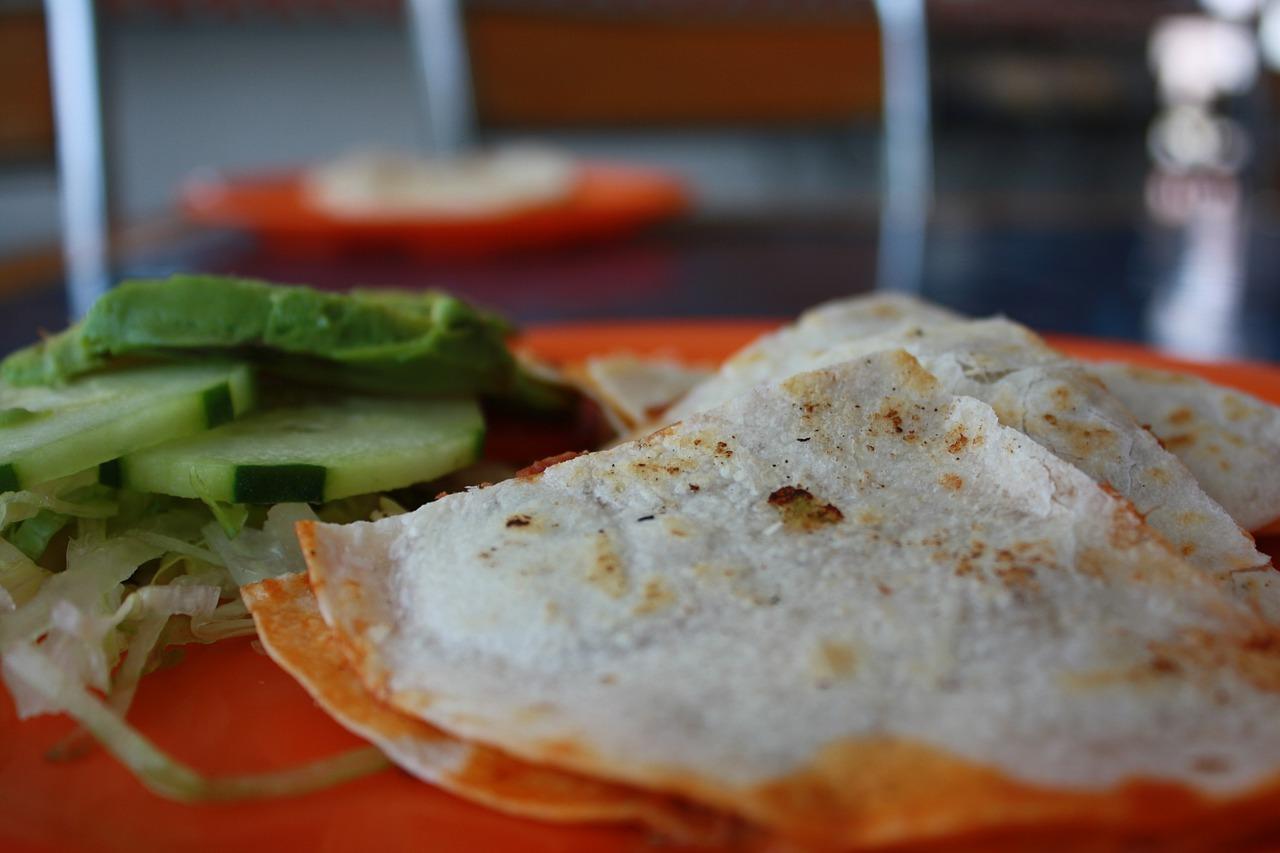 quesadillas, tacos, comida mexicana, tres marias, morelos