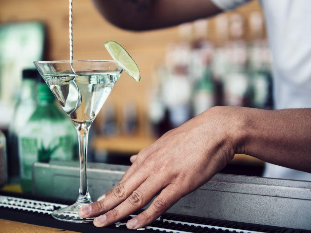 martini bebidas con vodka