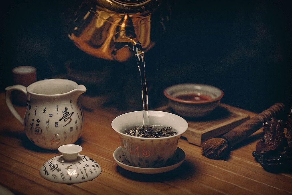 cultura del té