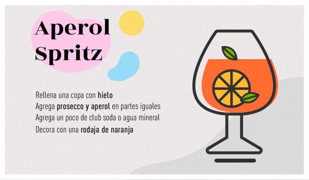 receta aperol spritz