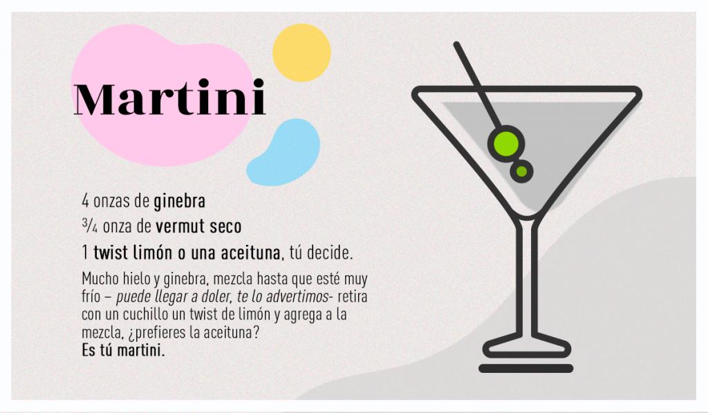 receta martini