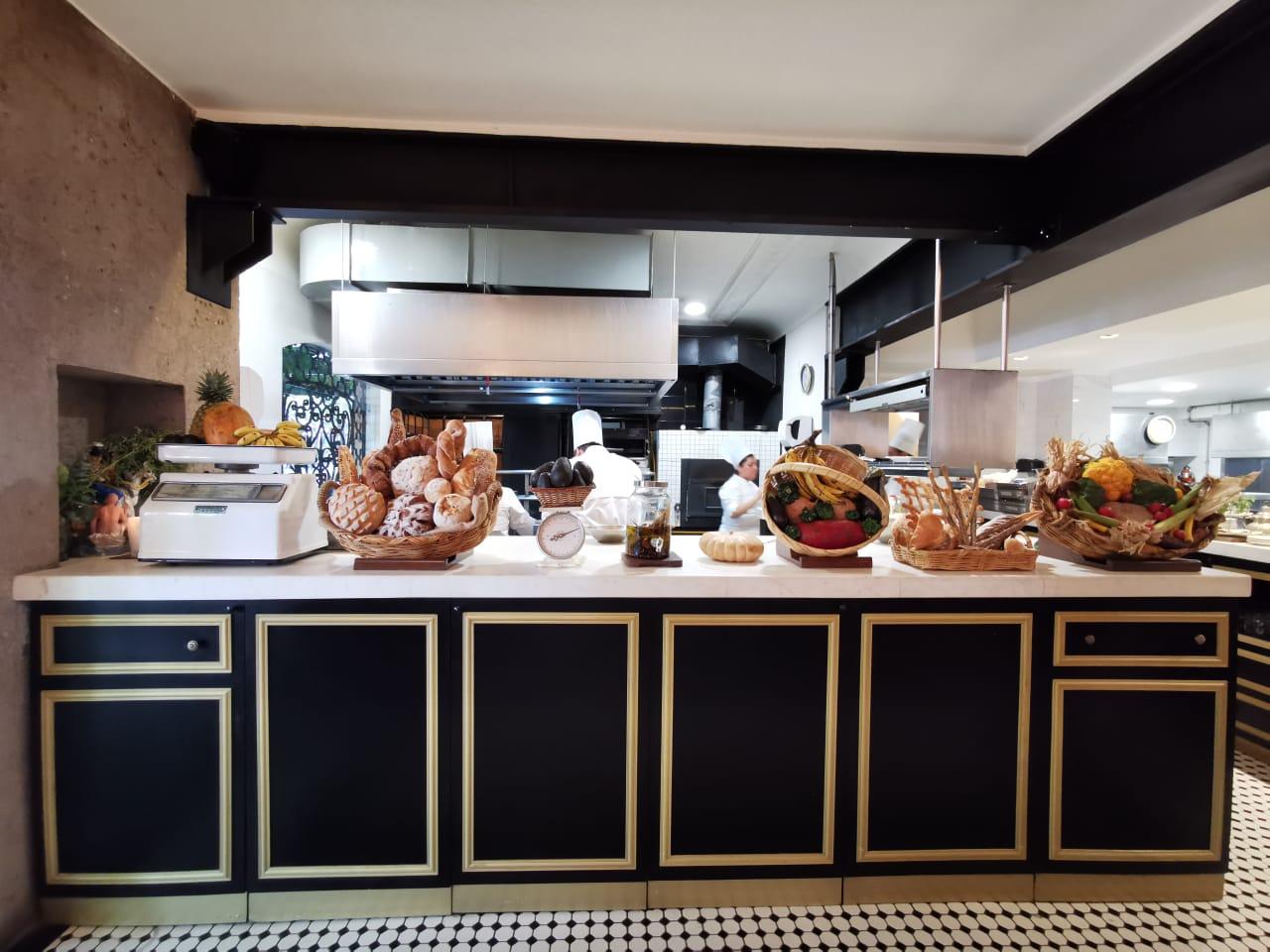Restaurante Cedron en la Condesa